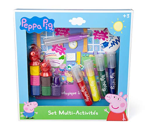 Peppa Pig- Set Multiactividades, CPEP010