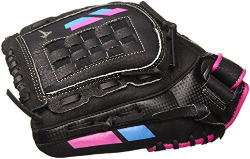 Mizuno Prospect Finch Jugend-Handschuh, Unisex, 312466.F913.13.1200, schwarz/pink, 12