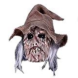 KARNEVALS-GIGANT Vogelscheuche Maske Halloween Maske