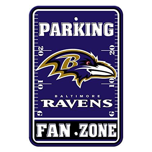 Football League Fan Shop authentische NFL Parken Schild, Baltimore Ravens ()