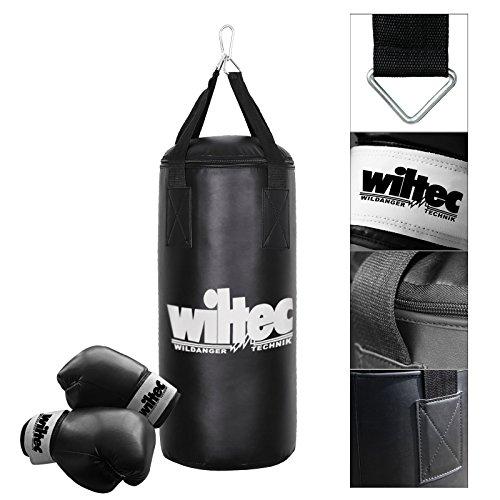 Kinder Box Set Boxsack gefüllt 9kg 62cm Boxhandschuhe Sandsack Handschuhe Boxen (Wohnung Boxsack)