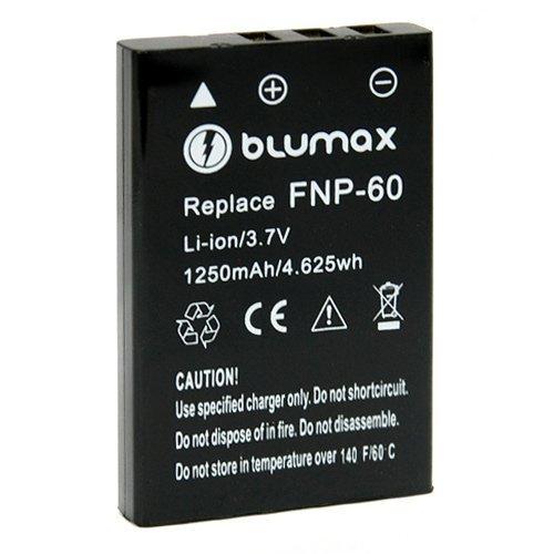 Ersatzakku von Blumax für FUJI NP-60 für Pentax Optio 330 Optio 330RS Optio 430 Zoom, Pentax Optio