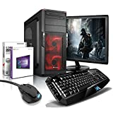 "shinobee Gaming-PC Komplett-PC AMD 6-Kern 6x3.90 GHz, GeForce GTX1050, 22"" LED, Gaming Tastatur+Maus, 8GB DDR3, 2TB, Windows10, Gamer PC, Gaming Computer, Desktop PC #5331"