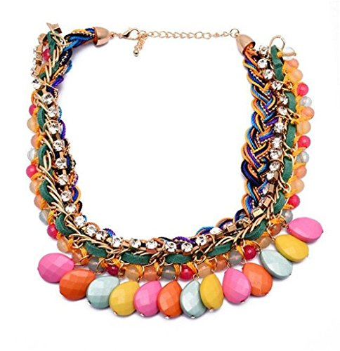 twopages-rhinestone-braided-layered-multi-colored-plaited-bead-statement-necklace-jewelry-gifts-for-