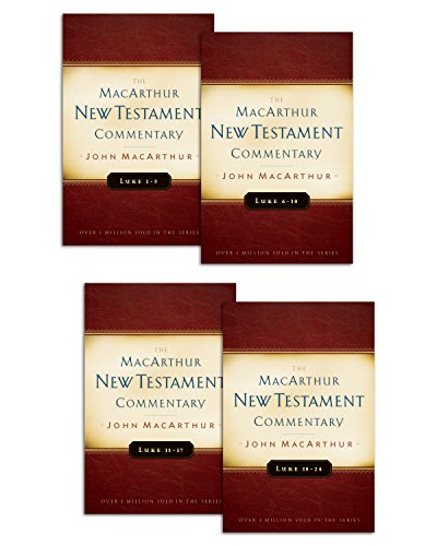 Luke 1-24 MacArthur New Testament Commentary Set (MacArthur New Testament Commentary Series) (English Edition)