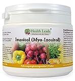 Inositol (Myo-Inositol) Pulver 300g, Auch Vitamin B8 genannt, Hohe Absorption, VEGAN, Magnesiumstearat frei & ohne üble Zusatzstoffe, GVO frei, Messlöffel inklusive, Hergestellt in Wales
