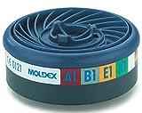 MOLDEX 869400 Gasfilter ABEK 1 für Serie 7000 plus 9000, VPE 10, 10 Stück