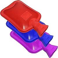 cs01385–Sure Thermo Wärmflasche Gerippter 2Seiten, 3Pack–Rot Blau Violett preisvergleich bei billige-tabletten.eu