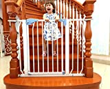 Kiddale Extra Long Metal Safety Gate(for...
