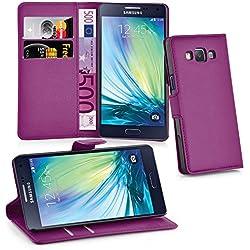 Cadorabo Coque pour Samsung Galaxy A3 2015 Mangan Violet