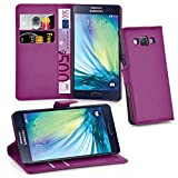Cadorabo Hülle für Samsung Galaxy A3 2015 (5) in Mangan Violett