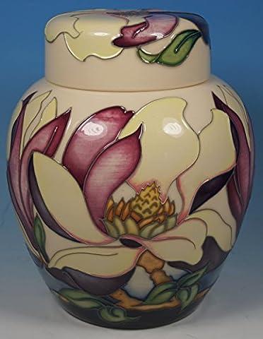 MOORCROFT Hodnet Hall 769/6 Magnolia Flower Ltd Ed 100 Ginger Jar 1st RRP £465