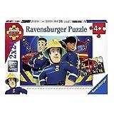 Sam El Bombero - Fireman Sam - Puzzle 2 rompecabezas de 24 piezas