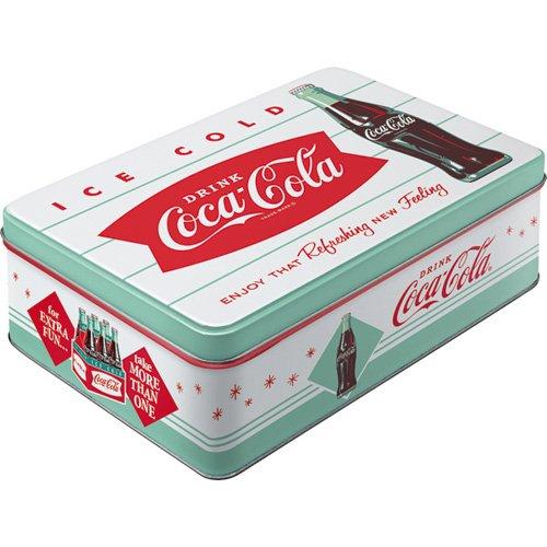 Nostalgic-Art 30726 Coca-Cola - Diner, Vorratsdose Flach -