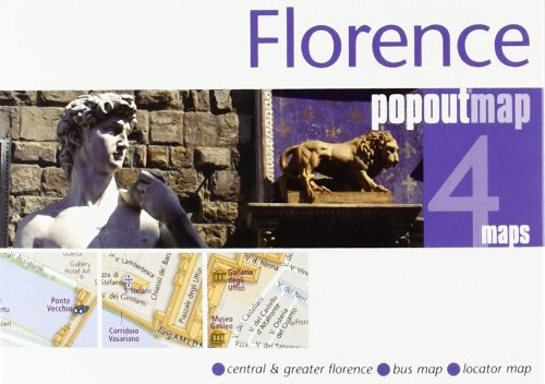 Florence PopOut Map (International Maps) - Florence City Center