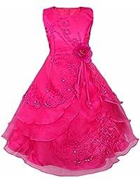 bb4b73ed3 iiniim Vestido de Fiesta Largo para Niñas 3-14 Años Vestido de Princesa  Sofia Vestido