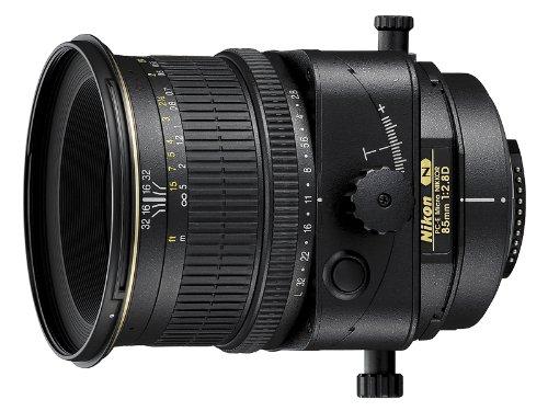 Nikon 85mm f/2.8D PC-E NIKKOR - Objetivo (8.5 cm, 2.8, 0.39m, Negro, 8.27 cm, 7.7 cm)
