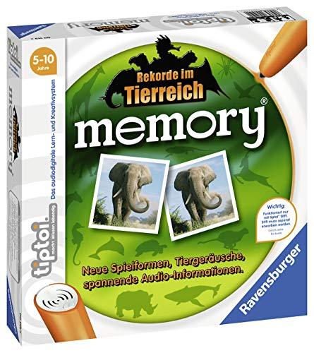 Ravensburger tiptoi 00519 - Spiel: memory Rekorde im Tierreich - Memory