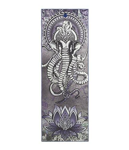 Yogitoes–Toalla protectora de esterilla de yoga, impresión - 242073132, Diseño de elefantes