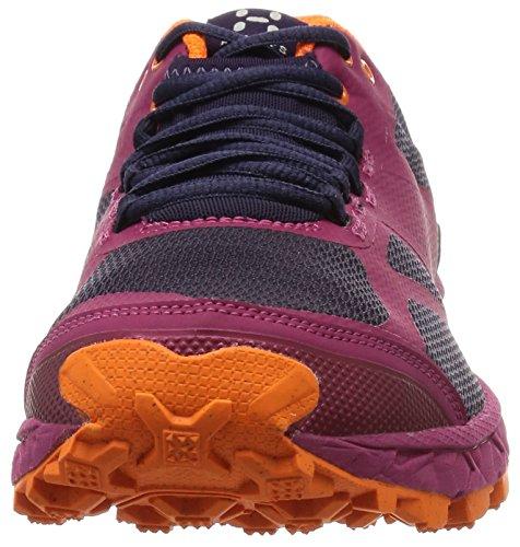 Haglöfs Gram Xc Ii, Scarpe da Trail Running Donna Rosa (Volcanic Pink/Acai Berry)