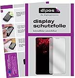 dipos I 2X Schutzfolie klar passend für Oppo F7 Folie Bildschirmschutzfolie