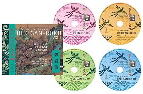 HEKIGAN-ROKU VOL. I Fall 1-54, 54 Zen-Teisho auf 4 MP3-CDs: Die Blaugrüne Felswand Zen-mp3-fall