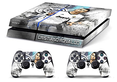 Price comparison product image Skin PS4 HD CRISTIANO RONALDO REAL MADRID - limited edition Playstation 4 - limited edition DECAL COVER ADESIVA playstation 4 SONY BUNDLE [