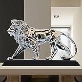 Toaryong Le Salon Decoration Decoration Mobilier De Maison Créative 24 Lion Décoration Artisanat, Cadeaux De Pendaison De Leadership Envoyer(King Size) Vent Des Rois
