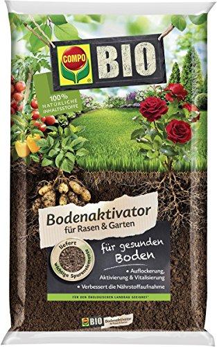 COMPO BIO Bodenaktivator für Rasen & Garten, Mit Schafwolle, 5 kg