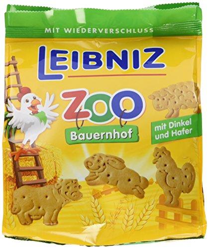 Leibniz ZOO Bauernhof, 4er Pack — Mini-Kekse
