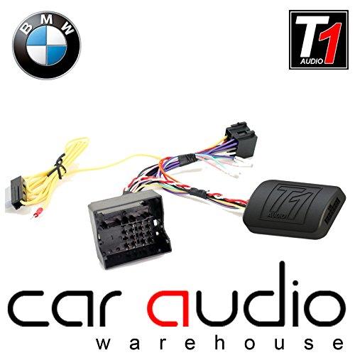 T1 Audio BMW t1-bm5 BMW SÉRIE 1, BMW SÉRIE 3, BMW SÉRIE 5, BMW 6 Series, BMW 7 Series, BMW, Mini, BMW Z4 sans adaptateur pour interface de contrôle au volant Volant de voiture avec câble