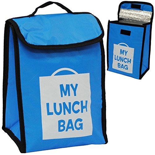 alles-meine GmbH Lunchtasche / Thermotasche - Isoliert -  Blau  - Thermo - Isoliertasche - St..