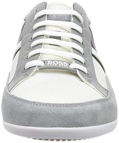 Boss Green Spacit 10167195 01, Baskets Basses Homme Gris (light Grey 050)