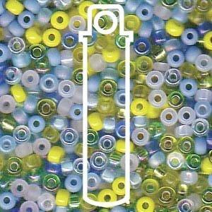 Mix Lagoon Miyuki Japanese round rocailles glass seed beads 11/0