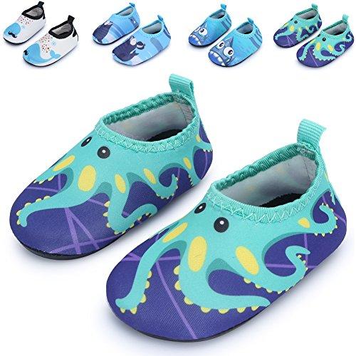 JIASUQI-Baby-Boys-und-Girls-Barefoot-Swim-Water-Skin-Schuhe-Aqua-Socken-fr-Schwimmen-Schwimmbad-Strand
