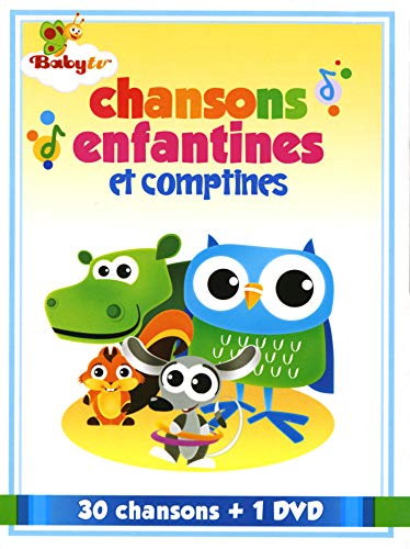 Chansons Enfantines et Comptines // 30 Chansons / 2 Cd/Dvd Combo -