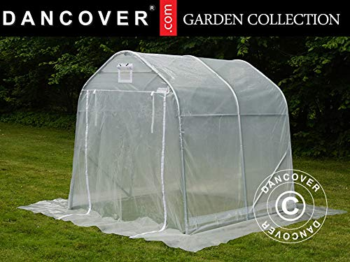 Dancover Foliengewächshaus, 2x2x2m, PE, 4m², Transparent