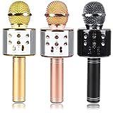 #4: Bluetooth 4.1 Wireless Karaoke Inbuilt Hi-fi Speaker Microphone (Black)