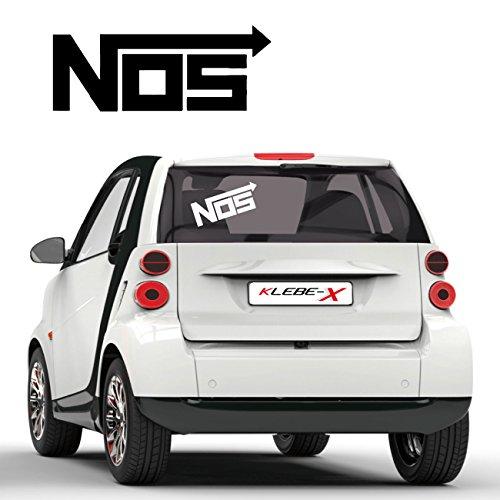 NOS Nitrous Oxide System Tuning Sticker Lachgaseinspritzung Fun Aufkleber Autotattoo - System Nos