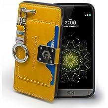 LG G5 Case Étui Housse, Arium [Français Bumper] [Slim-Fit] TPU Pare-chocs avec Fente pour Carte [Absorption de Chocs] [Protection en TPU] pour LG G5