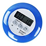 A-szcxtop Mini LCD Küche Timer Stoppuhr Kochen Countdown LED Uhr Alarm mit Magnet-Pad