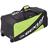 Dunlop Biomimetic Tour Wheelie Holdall Tennis Bag - Green, 75 x 32 x 12 cm, 40 Litres, 817166