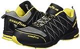 Goodyear GYSHU1502, Herren sportliche Sicherheitsschuhe , Schwarz - Black (Black/Yellow) - Größe: 43 EU (9 UK) -