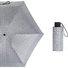 merymall Paraguas de Sol, protección UV Especial para Viajes/Paraguas Ligero de Bolsillo a
