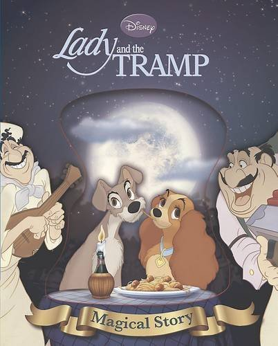 Disney Lady and the Tramp Magical Story with Lenticular Front Cover (Disney Magical Story) by Disney (31-May-2013) Hardcover