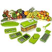 High Quality Kitchen Dicer Plus, Nicer Vegetable and Fruit Slicer Chippers and Chopper With 1 Toothbrush Holder Free