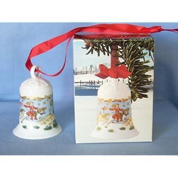 Hutschenreuther WAHL Weihnachtsglocke 1985 NEU 1 Glocke Porzellan OVP