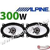 """ALPINE SXE-4625S 4x6"""" 10 x 15cm 2 way 300 Watts Car & Van Audio Coaxial Speakers"""