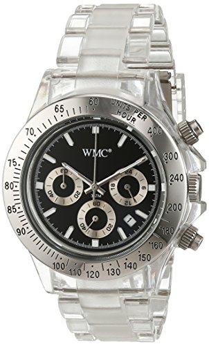 WMC Damen-Armbanduhr Analog Quarz Edelstahl WMC-2320