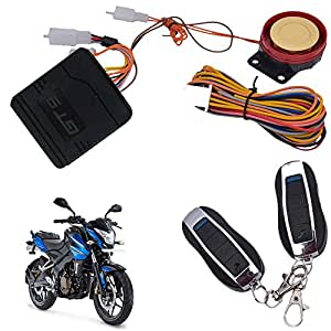 Vheelocityin Bike/Motorcycle/Scooter Remote Start AlarmFor Bajaj Pulsar 200 Ns